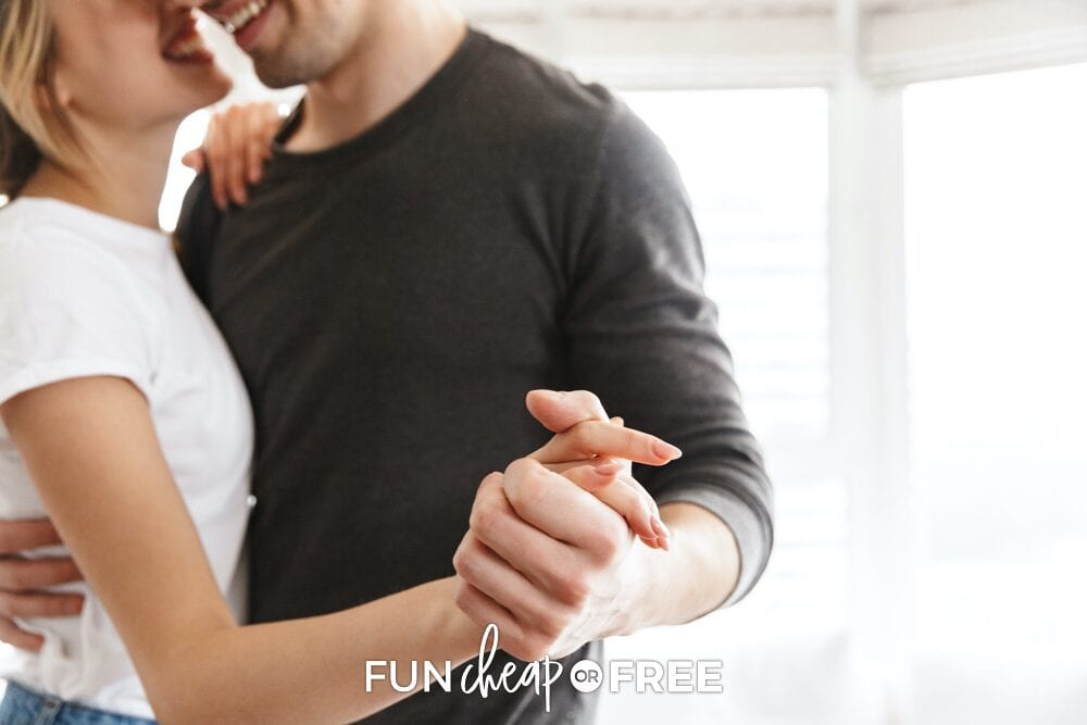Couple dancing together, from Fun Cheap or Free