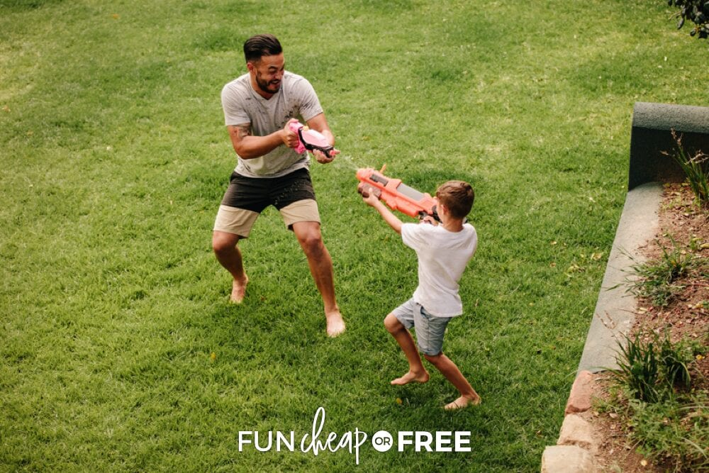 Beat the heat with these fun and cheap water activities that will make great memories! Fun Cheap or Free