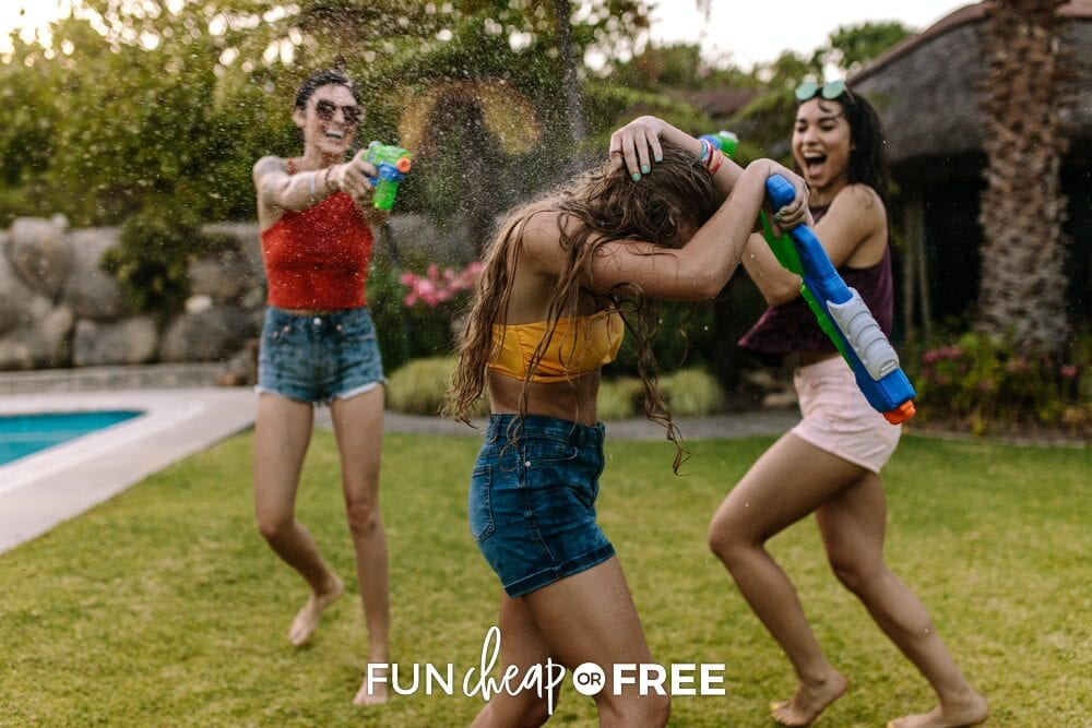 Get outside and have fun at home! Fun Cheap or Free