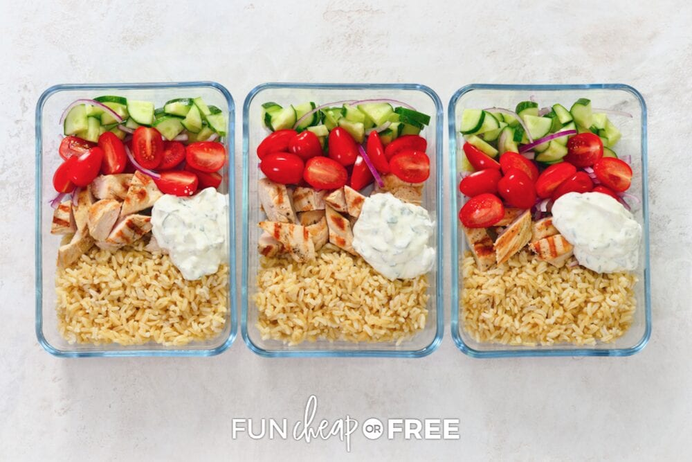 Another nighttime routine hack from Fun Cheap or Free is to pack lunch the night before. You can even use glass containers like these!