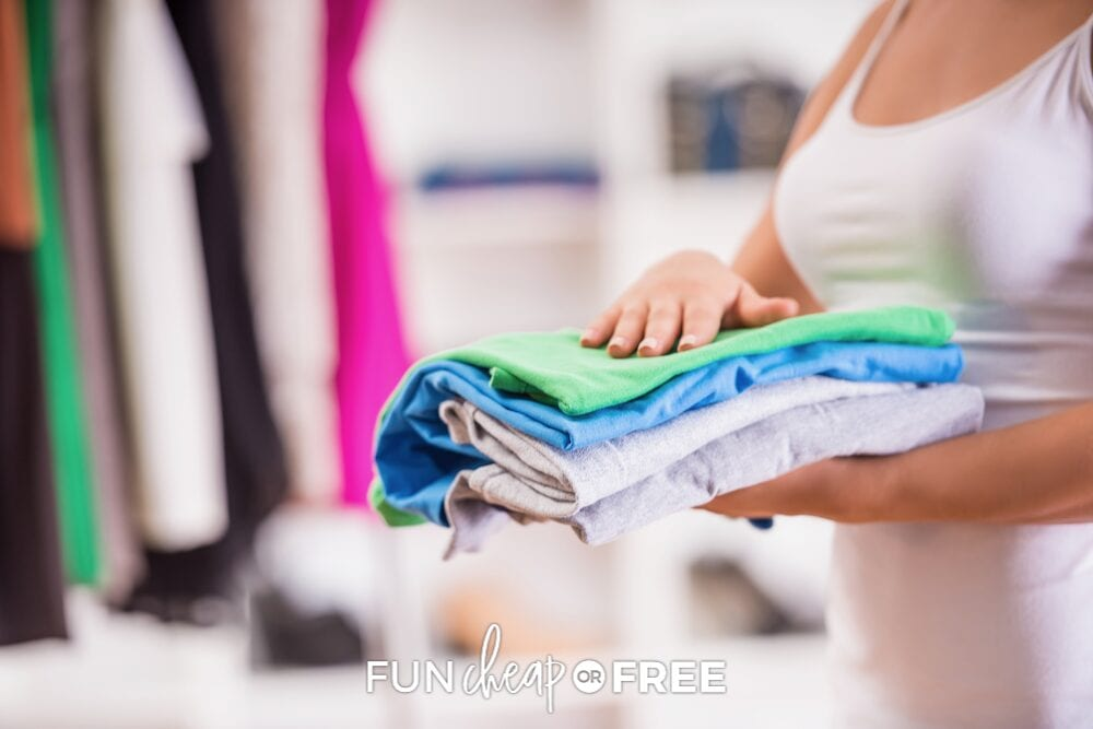 A nighttime routine hack that works is to pick out clothes the night before. From Fun Cheap or Free