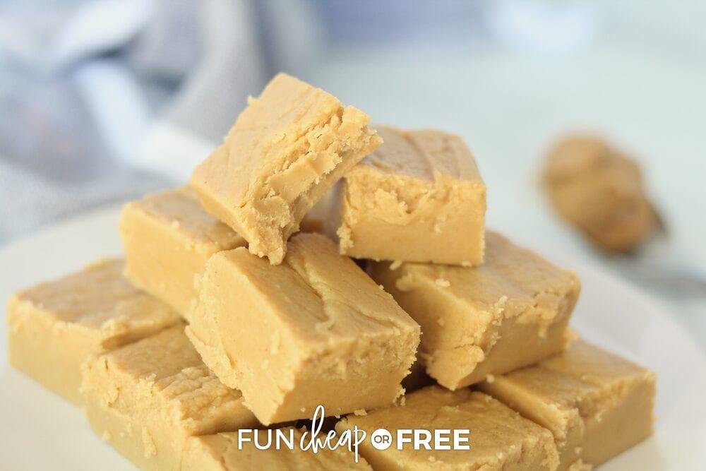 Peanut butter fudge recipe from Fun Cheap or Free