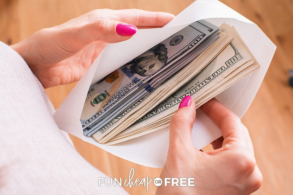 Deposit any extras you make during high season and make it work for you! Tips from Fun Cheap or Free
