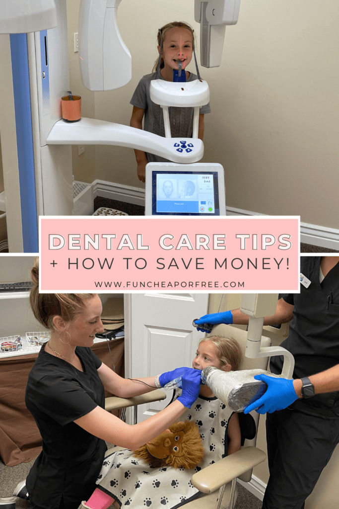 Girls at the dentist, from Fun Cheap or Free