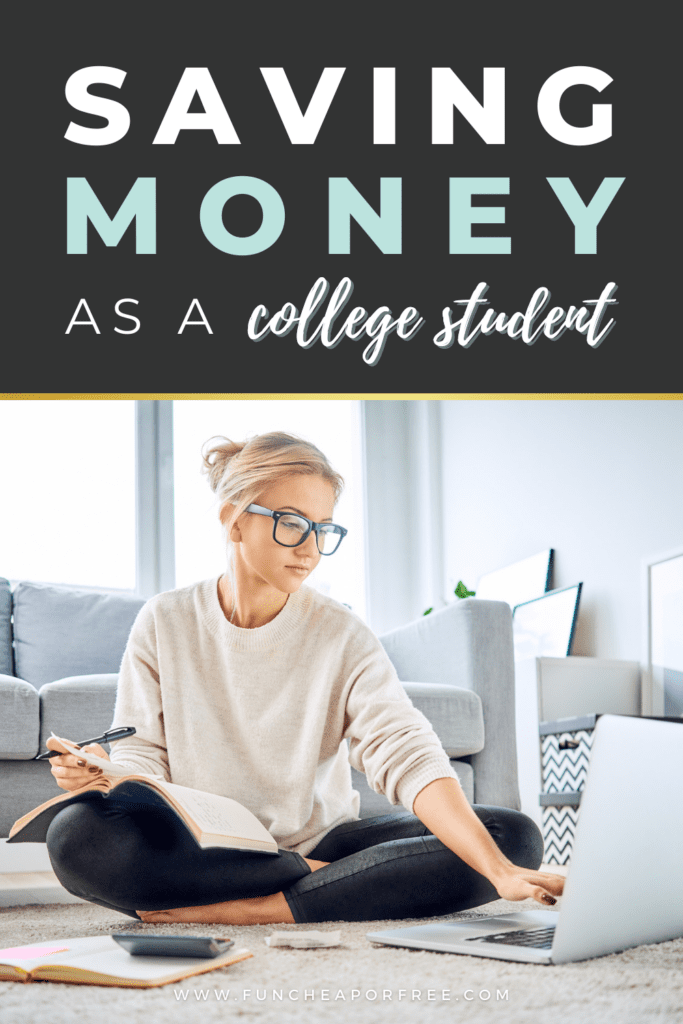 college student working on a budget, from Fun Cheap or Free