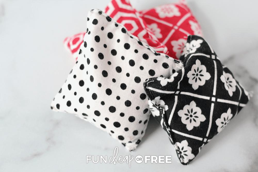 bean bag hand warmers, from Fun Cheap or Free