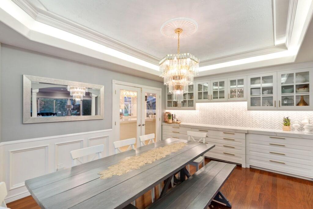 Jordan's dining room, from Fun Cheap or Free