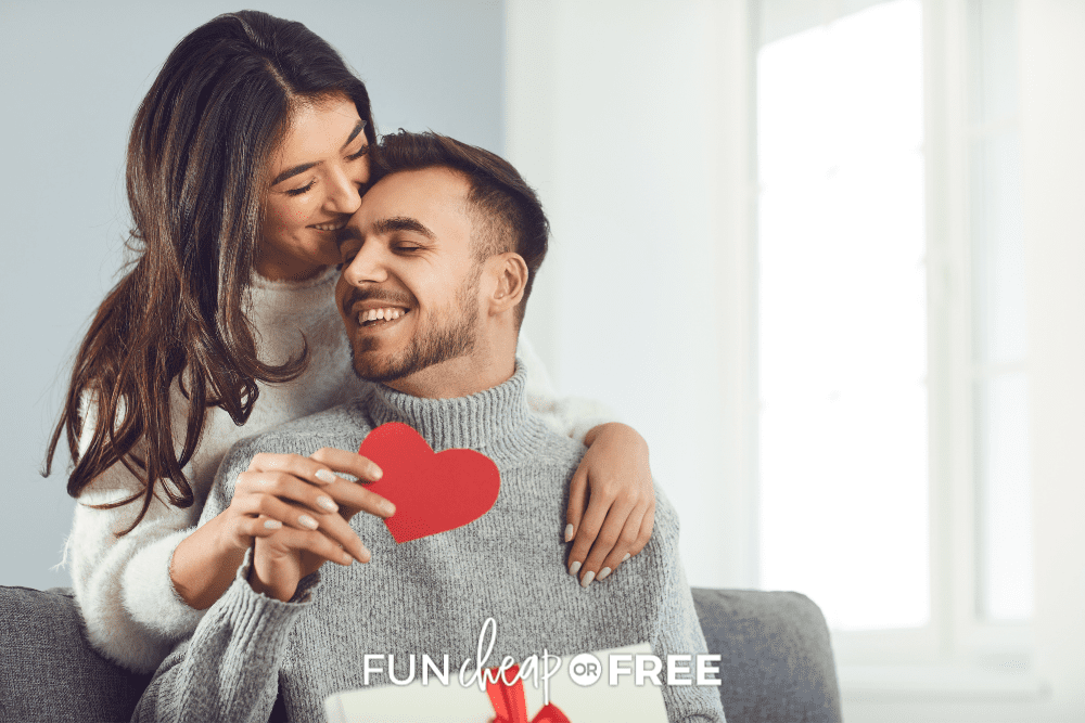 couple celebrating Valentine's Day, from Fun Cheap or Free