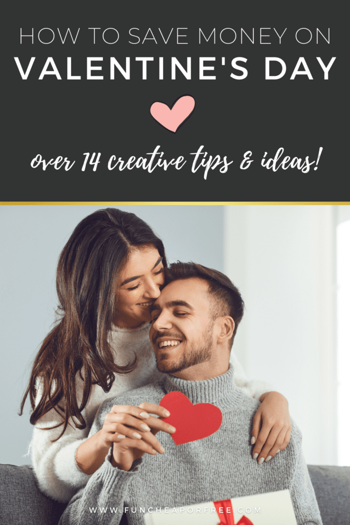 tips for saving money on Valentine's Day, from Fun Cheap or Free