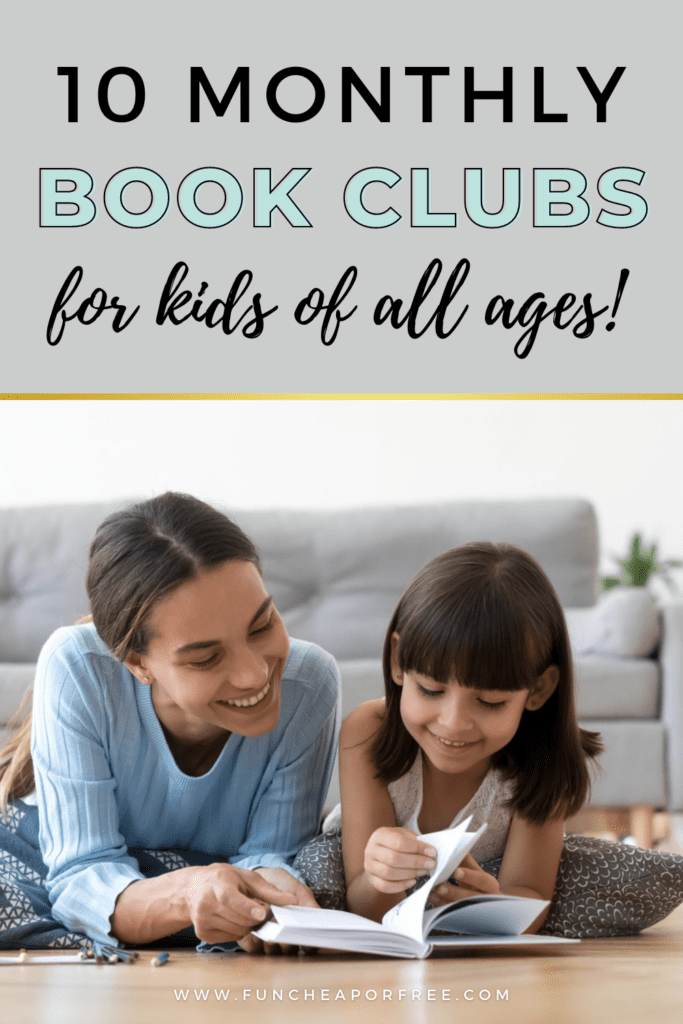 our picks for the top 10 kids book clubs, from Fun Cheap or Free