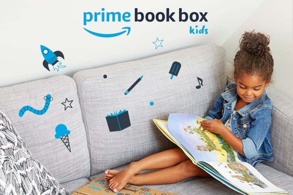 little girl reading Amazon Prime book, from Fun Cheap or Free