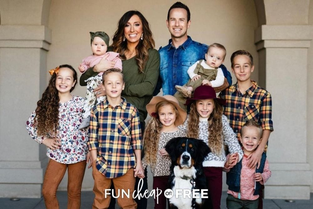 Jordan Page & family, from Fun Cheap or Free