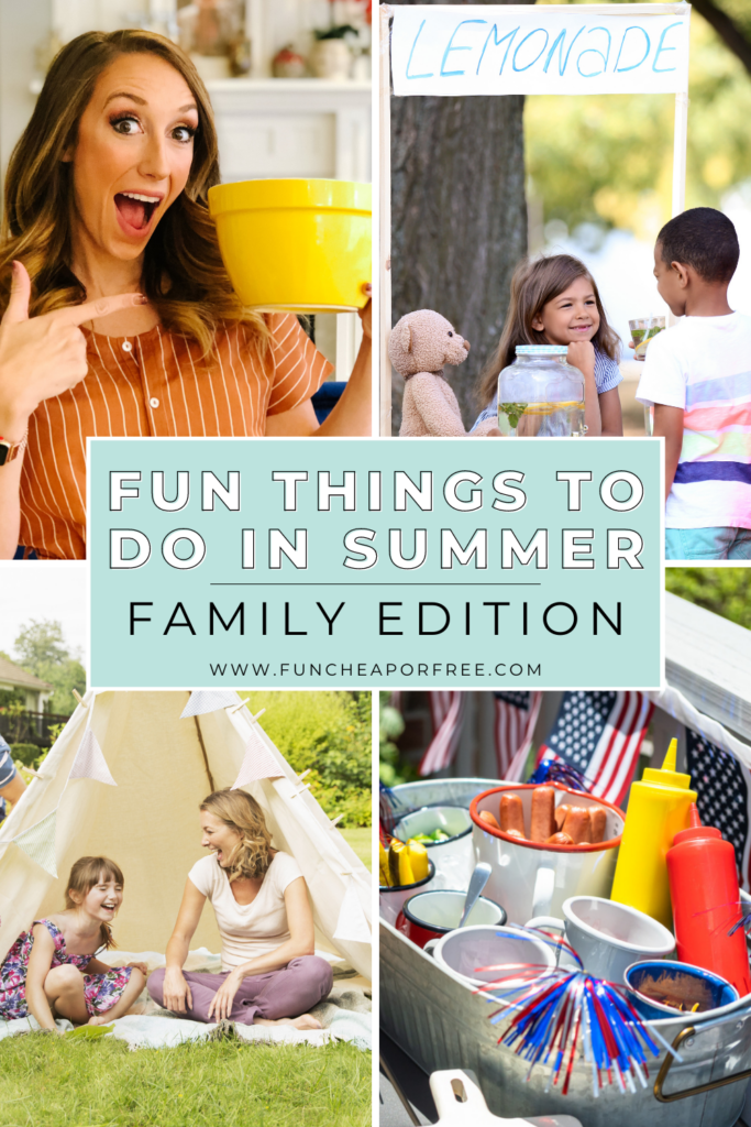 Families having fun together, from Fun Cheap or Free