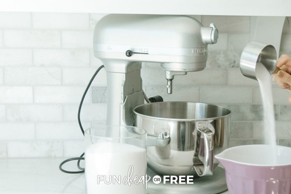 Kitchen Aid stand mixer, from Fun Cheap or Free
