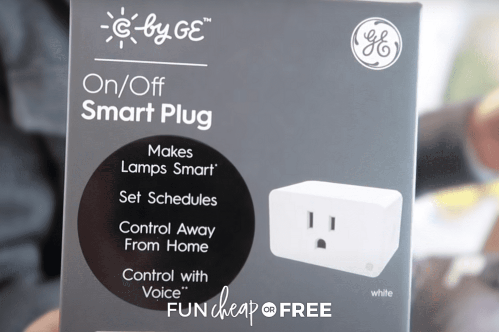 on/off smart plug to automate day to day tasks, from Fun Cheap or Free