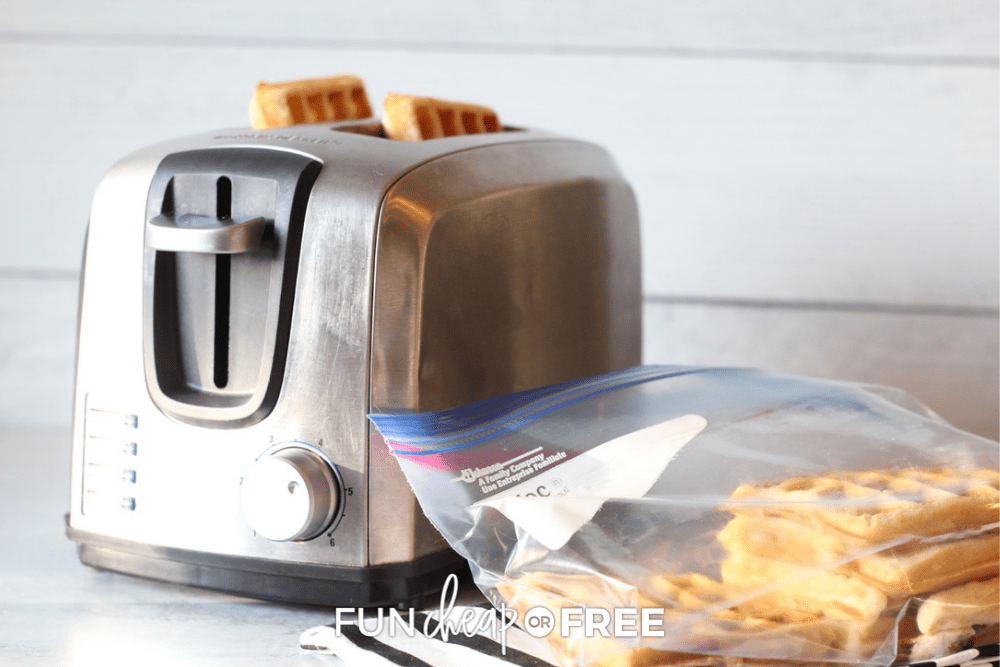 make ahead waffles, from Fun Cheap or Free