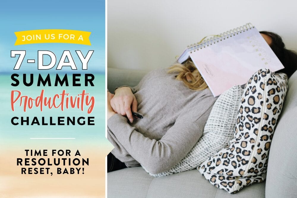7-Day productivity challenge, from Fun Cheap or Free