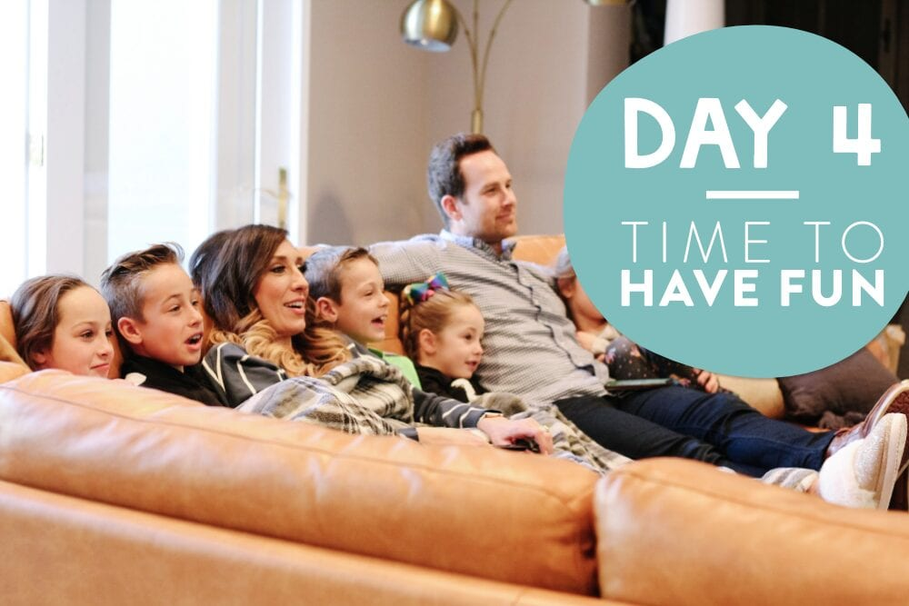 Page family on a couch, from Fun Cheap or Free