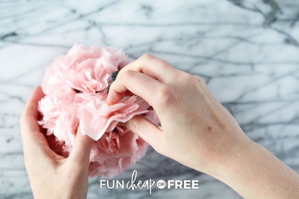 DIY decorative tissue paper balls, from Fun Cheap or Free