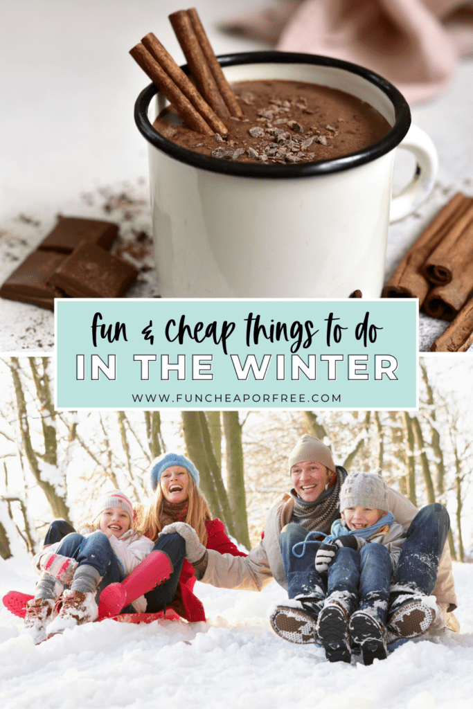 list of fun things to do in winter, from Fun Cheap or Free