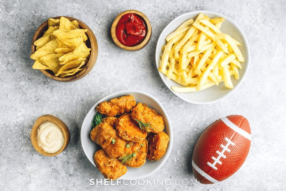 snacks for a football game, from Fun Cheap or Free