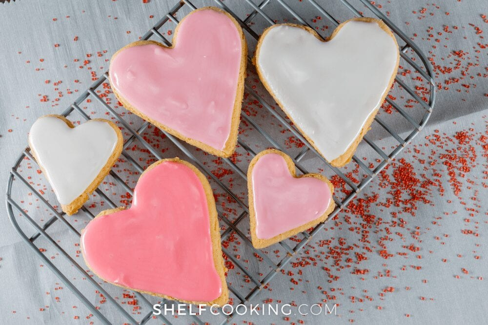 heart-shaped cookies, from Fun Cheap or Free